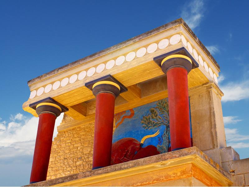 Knossos Palace, Heraklion, Crete