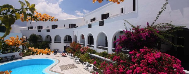3* New Haroula Hotel Fira Santorini