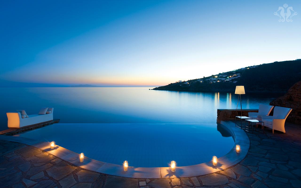 4 Petasos Beach Mykonos Island Greece